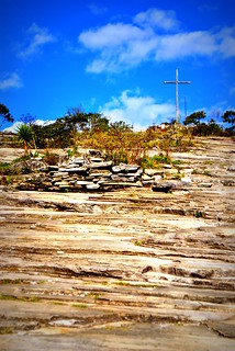 The cross is on the highest place.
