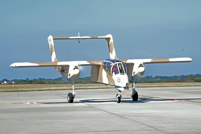 F-AZKM North American Rockwell OV-10B Bronco
