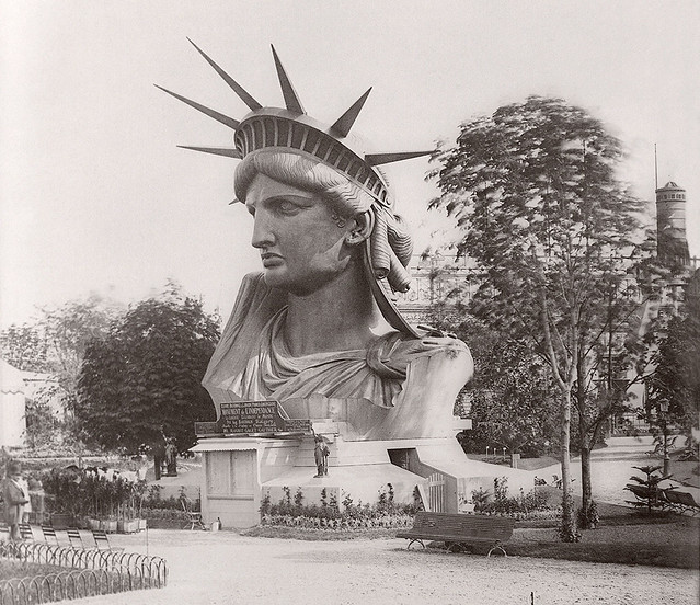Statue of Liberty under construction  (2/14)