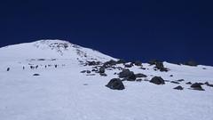 Skały Pastuchova 4600m.
