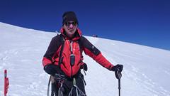 Pod szczytem Elbrus (5642m)
