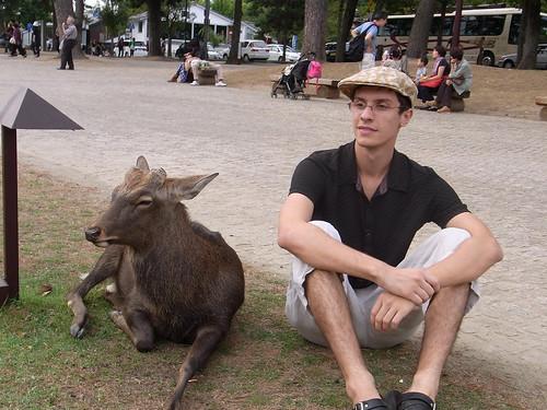Student enjoys the wildlife while overseas
