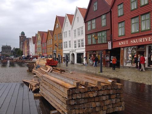 Norway - Bergen Bryggen waterfront