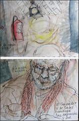 El Sanjuanino (lo de Sanchez Bustamante) y la nueva bufanda. Para empanadas y leer. 25 de agosto, 2014. (Sanjuaninos and the new scarf: for empanadas and reading.)
