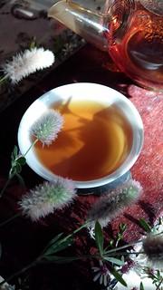 Wildflowers and Golden Yunnan Tea II