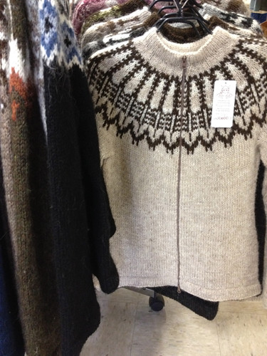 Iceland, Lopi sweaters, Alafoss factory shop