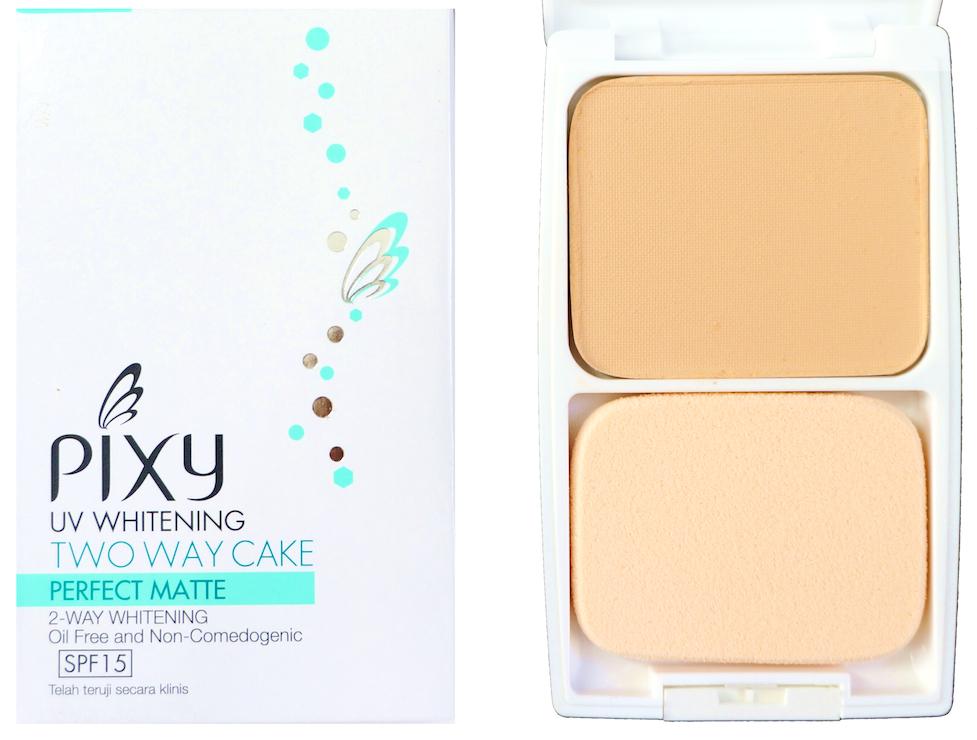 pixy-UV-Whitening 2-Way-Cake-Perfect-Matte