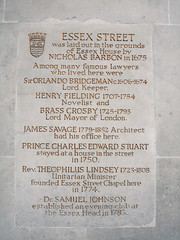 Photo of Essex Street, Nicholas Barbon, Orlando Bridgeman, Henry Fielding, and 2 others