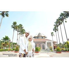 Citra+Andree wedding portraiture. Akad at Masjid UGM Yogyakarta, August 23, 2014. Photo by @Poetrafoto. Check our IG profile or visit our web for more info and pricelist. Thank you :)