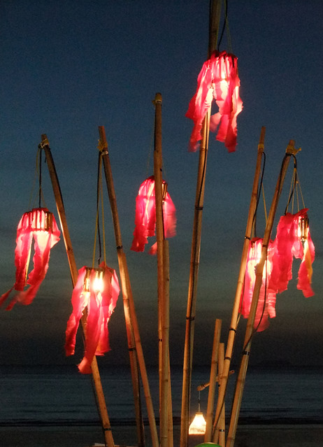 Lanterns Light Up a Ko Lanta Evening