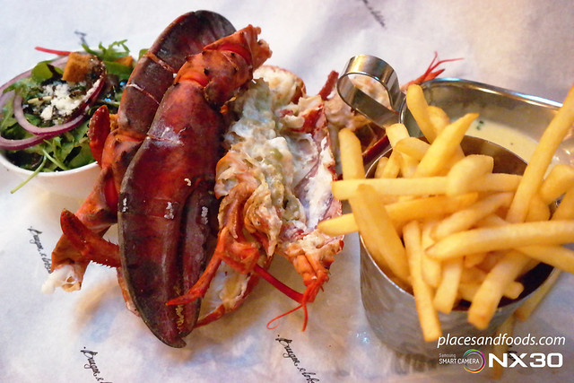 london burger and lobster steamed lobster