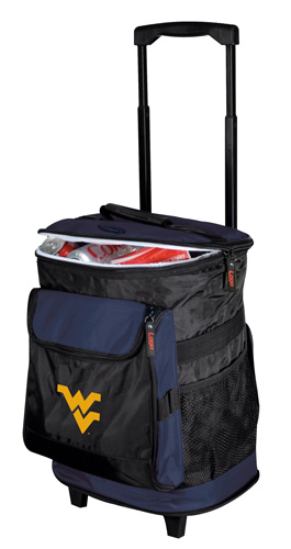 West Virginia Mountaineers Rolling Cooler