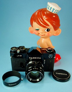 J-3 with Yashica's Sailor Boy