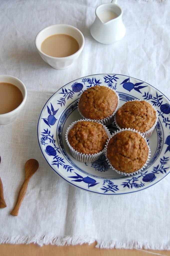Granola muffins / Muffins de granola