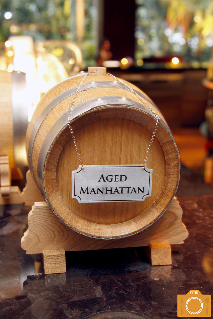 Sage Aged Manhattan barrel