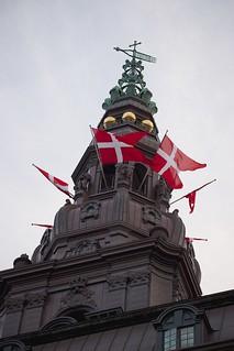 Image of Christiansborg Palace near Copenhagen.