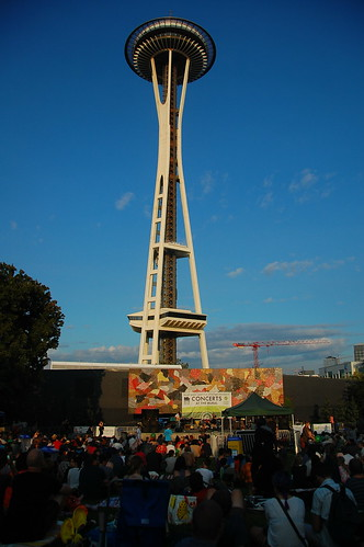 Seattle Space Needle Festival