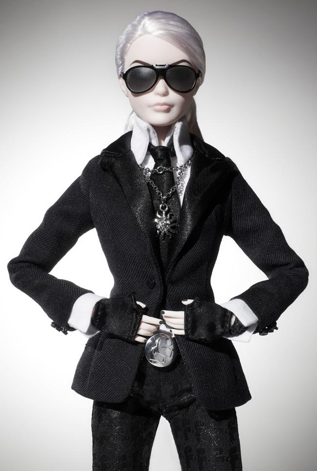 2 Barbie Lagerfeld