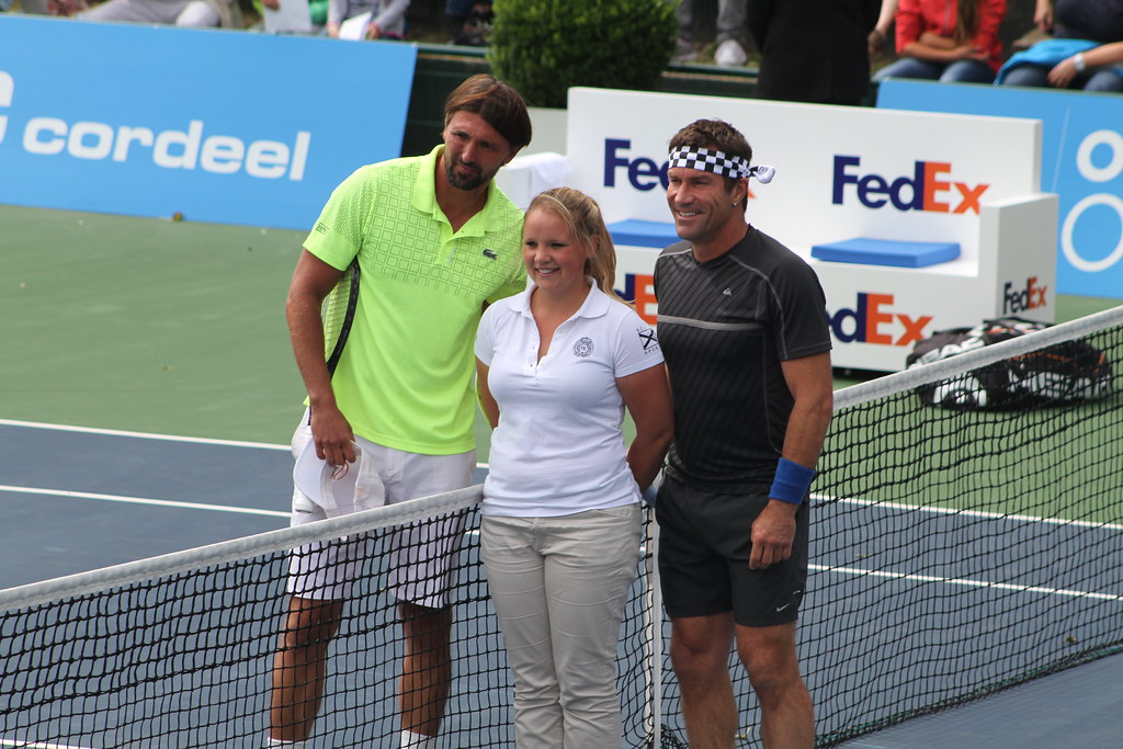 Goran Ivanisevic and Pat Cash