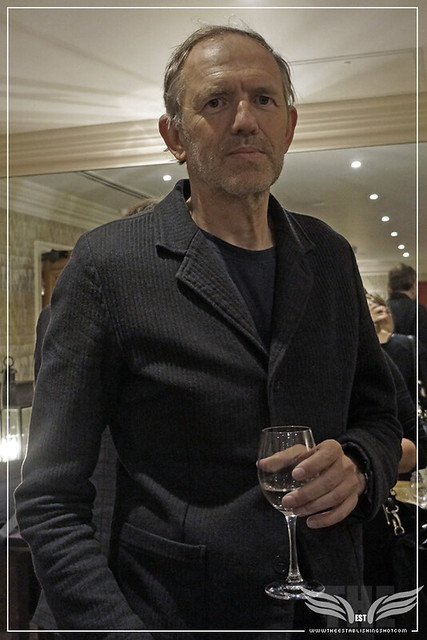 The Establishing Shot: ANTON CORBIJN AT THE A MOST WANTED MAN GALA SCREENING - CHARLOTTE STREET HOTEL LONDON