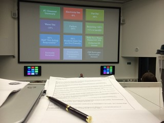 Sustainability at MMU (presentation)