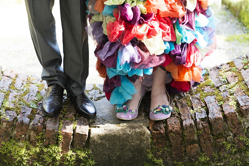 Wedding footware shoes picture