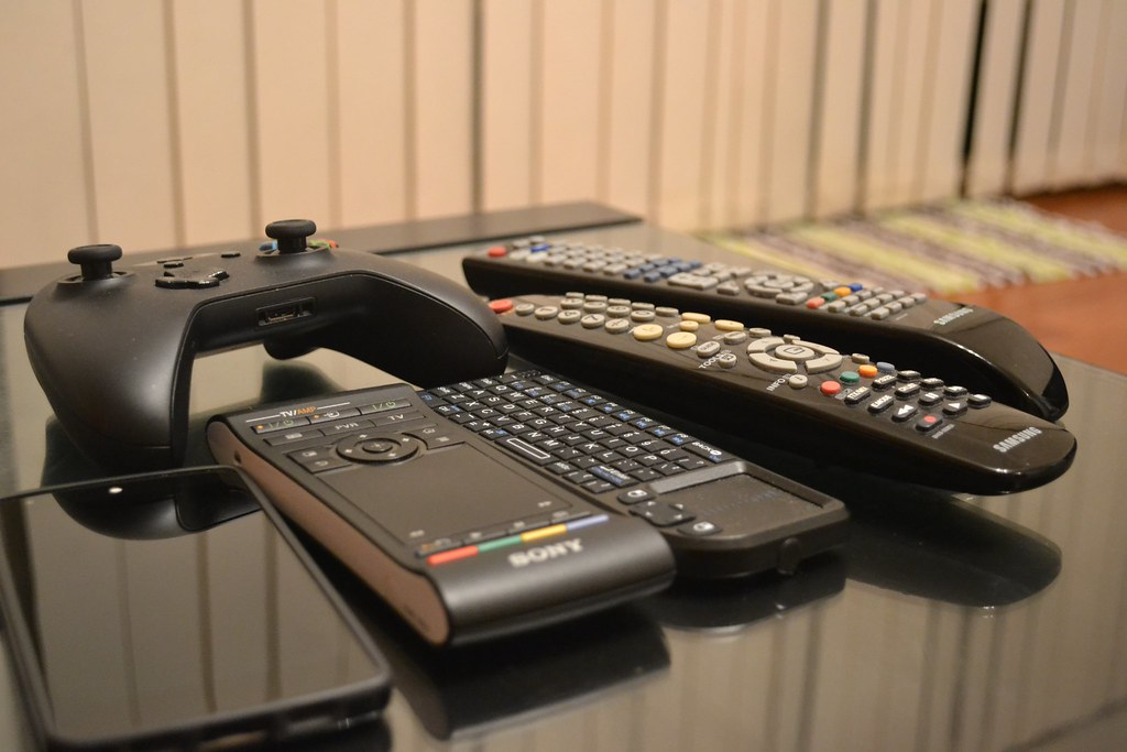 The line up of remote controllers