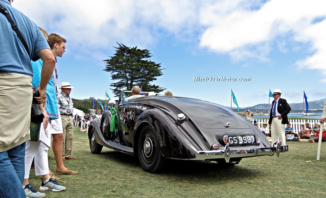 Pebble Beach 2014 Rolls Royce Phantom III Vanvooren