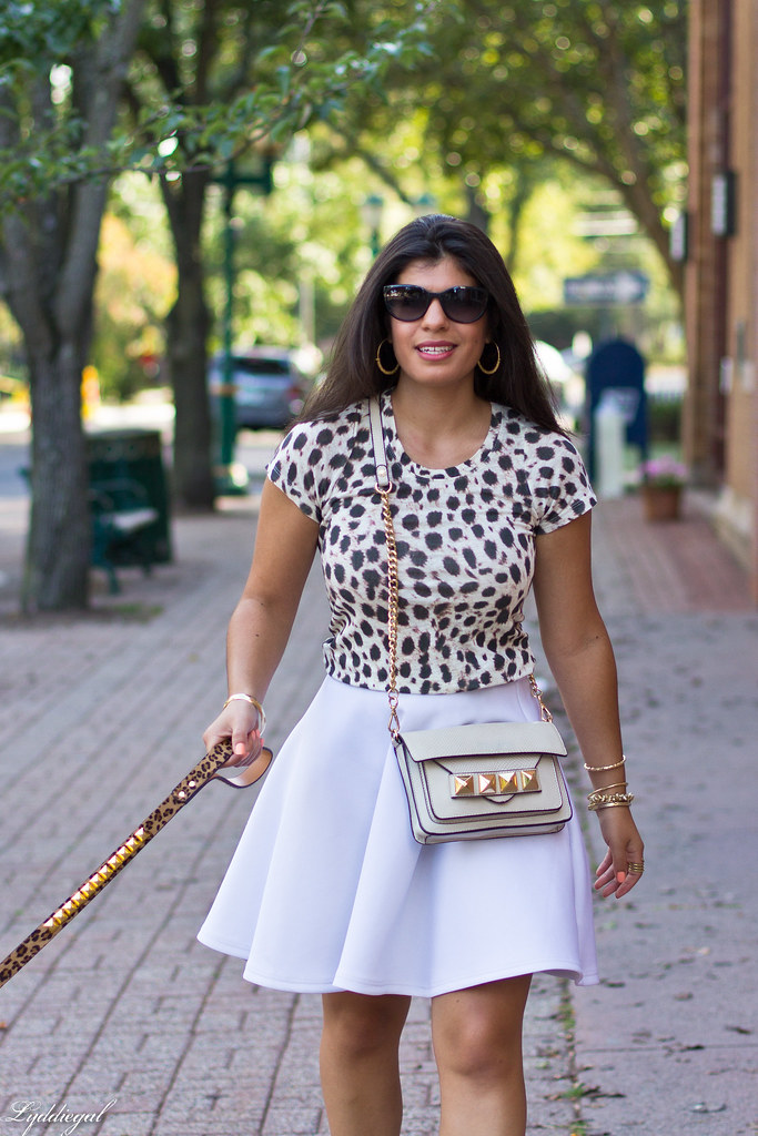 leopard tee, white skirt, grayson bag.jpg