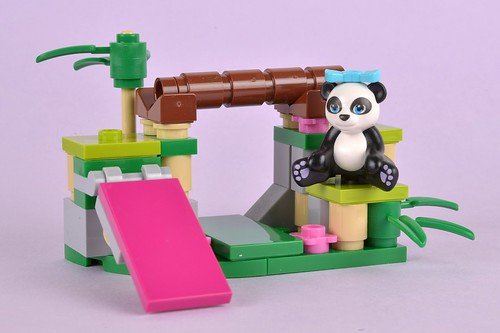 Review: 41049 Panda's Bamboo | Brickset: LEGO set guide and database