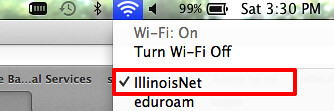Connect to IllinoisNet from your laptop image