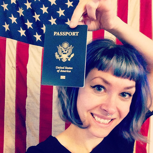 Officially the proud owner of a shiny, new, CURRENT passport! Woohoo! ✈️