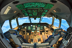 Simulador de Voo da aeronave C-105 Amazonas