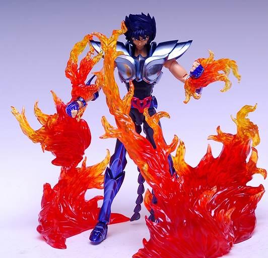 【玩具人'杜少'投稿】 開盒寫真—聖衣神話EX 金牛座 阿爾德巴朗+萬代火焰特效零件組(紅)