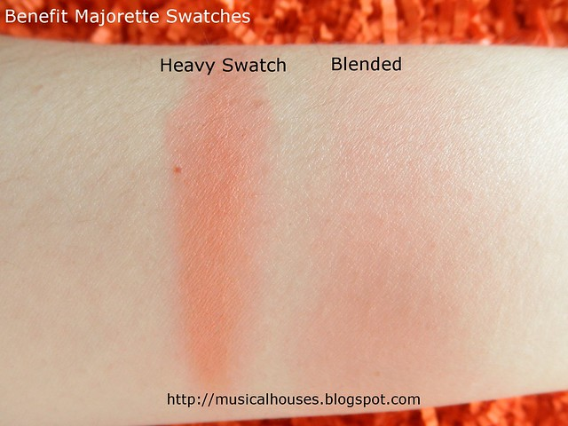 Benefit Majorette Swatches