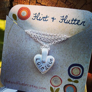 The back... So excited! My Zeus & Lola paw print pendant from #FlirtandFlutterJewelry is finally here!!  Would love to get a Tut & Sophie one done also... #love #dogstagram #ilovemyseniordog #ilovemydogs #mybabies #pawprint