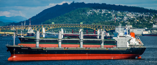 2014 - Vancouver - Alaska Cruise - Burrard Inlet - 2 of 3