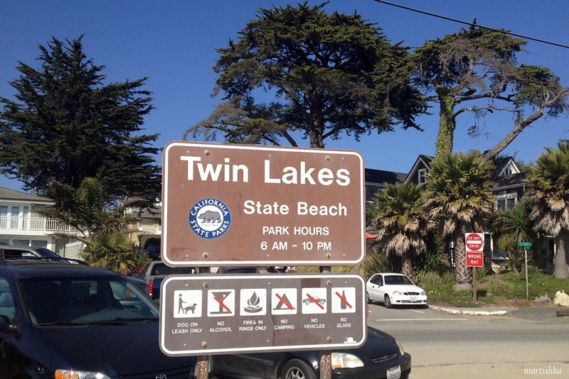 Twin Lakes State Beach