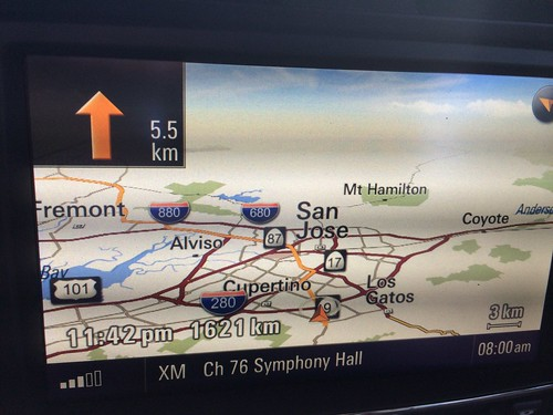 It was a long drive from Silicon Valley back to Vancouver