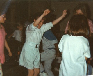 Brittny FLint-9 yrs old-dancing at the disco in Germany
