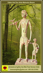 Father And Son Artist Mahendra Besara