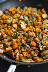 Vegetarian Frittata with Butternut Squash and Mush…