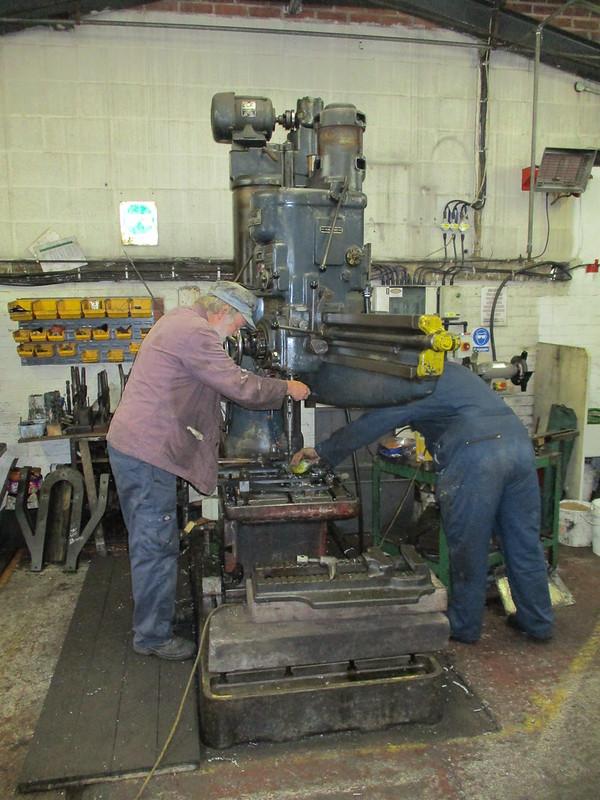 Drilling Ironwork