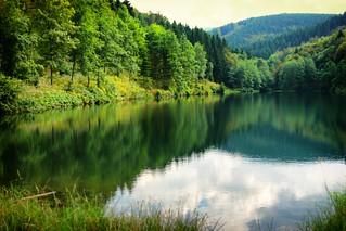 Bergsee im Sauerland