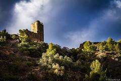 Les châteaux de Lastours: la tour Régine