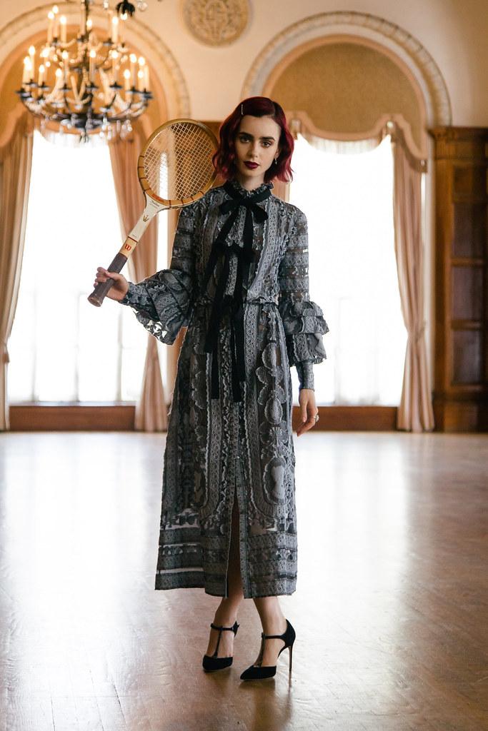 Лили Коллинз — Фотосессия для «Who What Wear» 2016 – 4