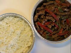 Pepper Steak and White Rice ~ MEAL TRAIN Dinner pr…