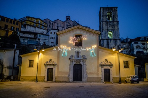 Castelfranci (AV), 2016, La Chiesa di Santa Maria del Soccorso