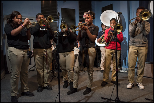 Cuttin' Class with the Marion Abramson High School Brass Band ...