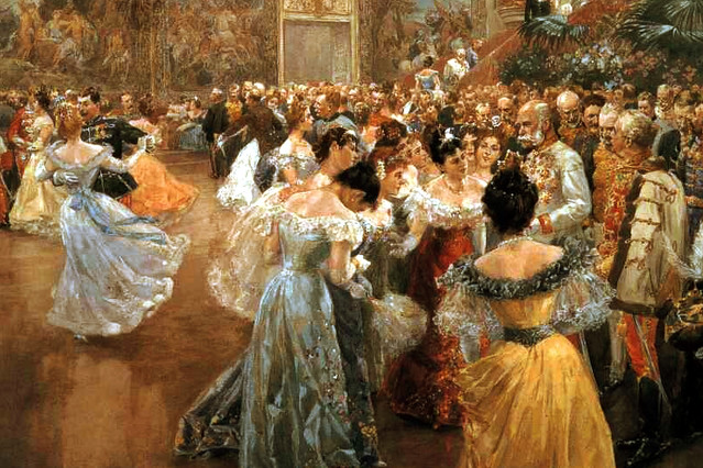 Court Ball at the Hofburg by Wilhelm Gause, 1900